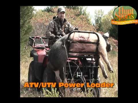 ATV UTV SXS Bow Rifle Hunting Parts Racks Ramps Lifts Deer Hunt Blind Portable Trailer