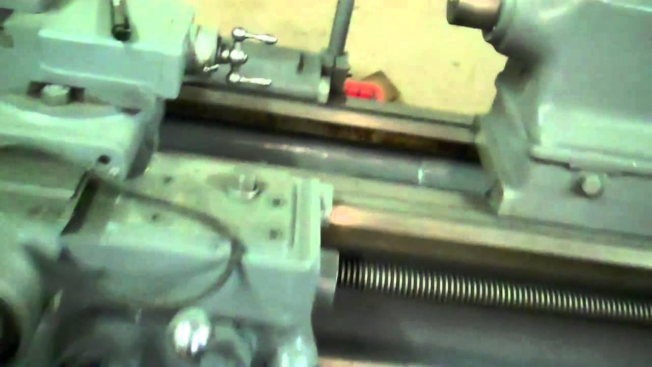 Metal Lathe Pool Cue Lathe Youtube