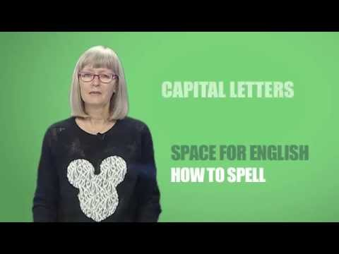 Space for English - PTV Season 2 Programme 05: How to spell