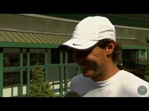 Rafael Nadal's perfect day at Wimbledon - Wimbledon 2014