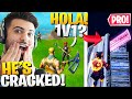 I Found A *SPANISH* PRO In Random Duos! (We 1v1