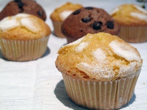 Como hacer Magdalenas Caseras como las de pasteleria