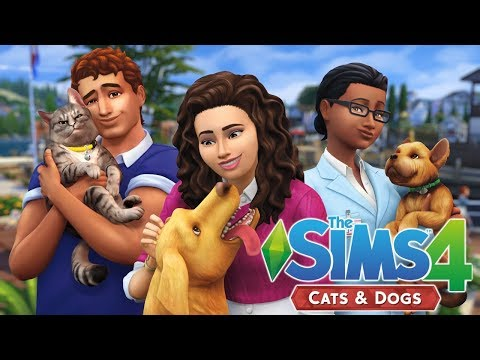 THE SIMS 4 CATS AND DOGS | TRAILER REACTION |