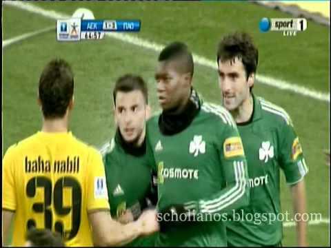 AEK - Panathinaikos 2-3