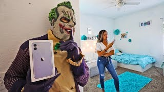 Scaring Sister As Joker, Then Giving Her iPhone 11