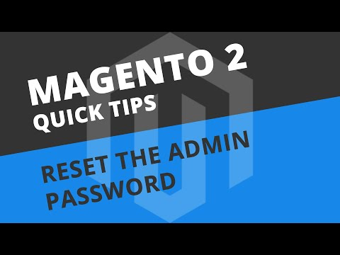 How to reset the admin password in Magento 2 (CLI & phpMyAdmin)