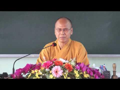Tọa Thiền Chỉ Quán Phần 5 - TT. Thích Minh Đạo TG Trường Trung Cấp Phật Học Vĩnh Long