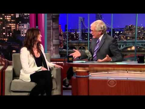 Julia Roberts on David Letterman 2010 (Part 1)