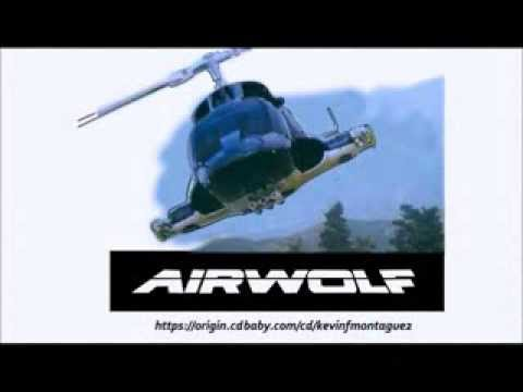 Airwolf Theme Music - Whiteboard Ad - Score By Kevin F. Montague video