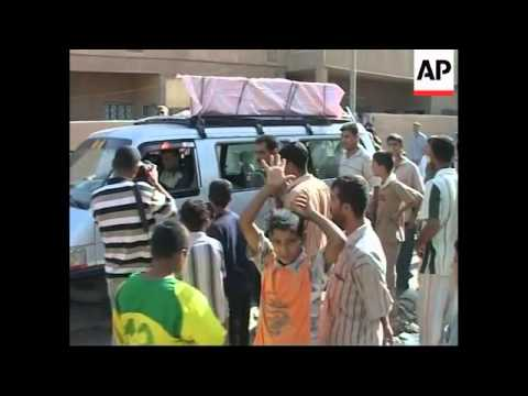 Bombs strike workers southeast of Baghdad, killing 8, wounding 24