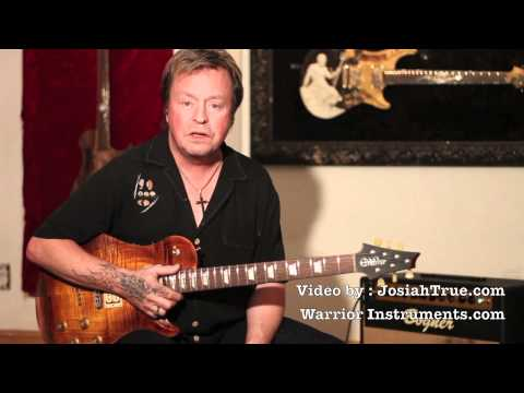 Rick Derringer Demos the New Warrior Isabella 59' Guitar