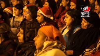 احتفالات دير سمعان الخراز برأس السنة الميلادية
