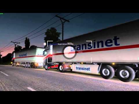 Euro Truck Simulator 2 Konwój Firmowy #1  3/4 W/MrBartass444 PrezesGaming