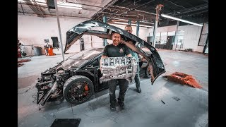 Savage Twin Turbo Lamborghini Gallardo Build