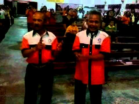 Worshipping God & Singing Murut Praise