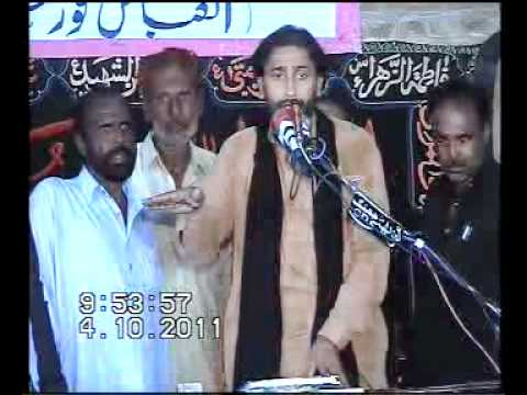 Zakir Manzoor Shahzad Wig Majlis 26 Oct 2011 At Notak video
