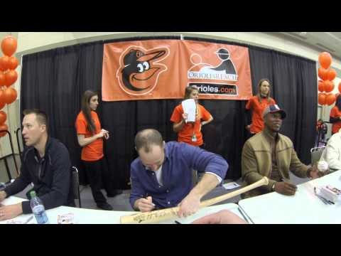2013 Baltimore Orioles Fan Fest (First Person View)