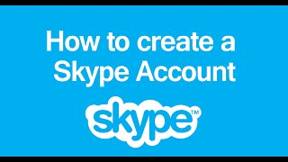 How to create a skype account step by step AMAZING ! UPDATED