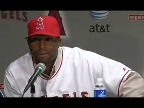 Torii Hunter joins Anaheim Angels Video