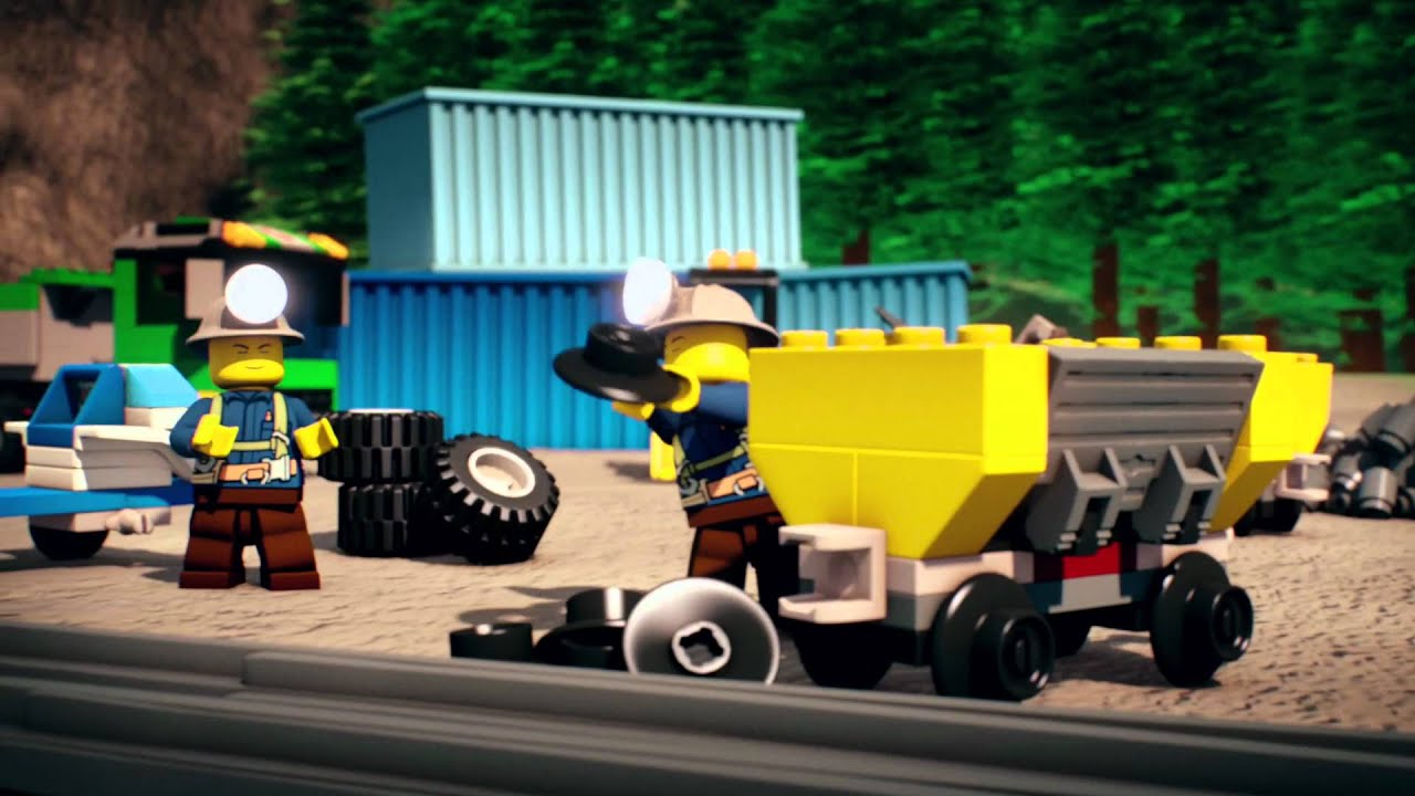 Logo City Movie Lego City Mini Movie Gold