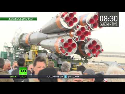 Record 500th manned rocket to launch from Baikonur Cosmodrone