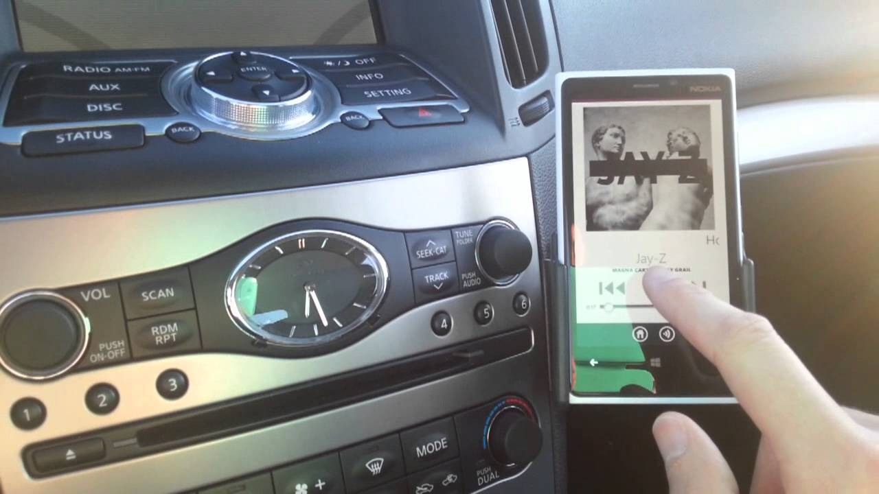 2010 G37 Xm Mod Aux Input And Bluetooth Audio Streaming
