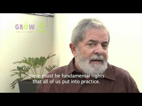 Lula da Silva talks about food - his likes and experiences