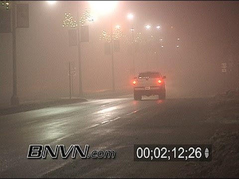 12/27/2005 Dense Fog video from Albert Lea, MN