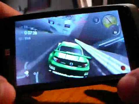 NFS Shift running on ZTE Blade