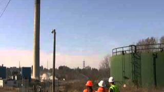 FAIL al demoler una torre de una Planta de Energía (Ohio Edison)