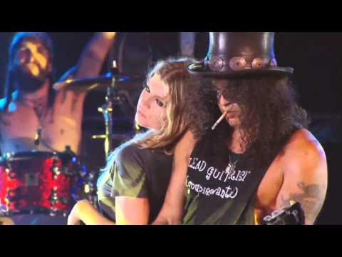 Slash Feat Fergie Sweet Child O Mine 1080p.mp4