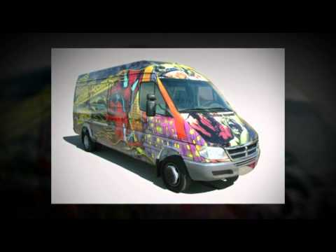 Mobile Sales Van: Atomic Comics