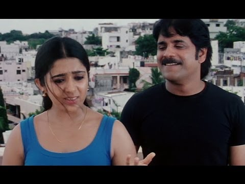Charmy Kaur tries to impress Nagarjuna - Meri Jung One Man Army...