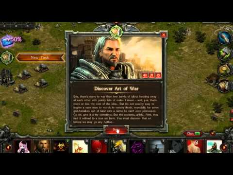 StormFall Age of War - Free 2 Play Strategy MMO Overview