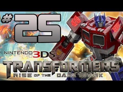 Transformers: Rise of the Dark Spark 3DS Walkthrough - PART 25 - GRIMLOCK MUNCH!