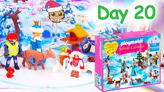 Playmobil Holiday Christmas Advent Calendar Day 20 Cookie Swirl C Toy Surprise Video