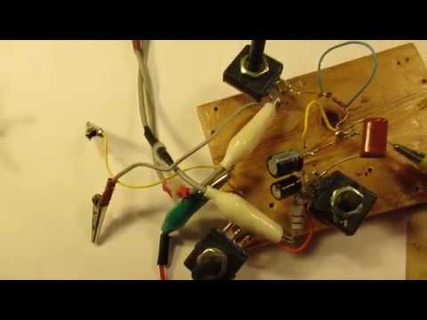 First idea to measure high inductance transformers and choke coils with a Maxwell bridge