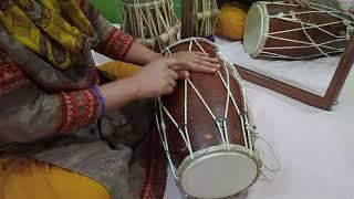 (भाग-4) लेडीज् संगीत ताल नई मे उठान को दोनों हाथों से एक साथ बजाना सीखें-