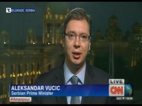 Aleksandar Vučić - Izjava za CNN