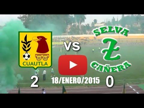 Arroceros Cuautla 2 - 0 Selva Cañera, Zacatepec / (18-Ene/2015)