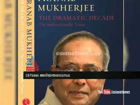 Indira Gandhi Wasn't Aware of Emergency Provision,Writes Pranab Mukherjee in Book