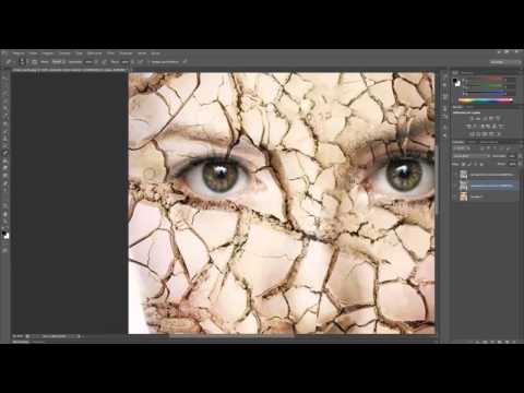 Efeito rosto rachado no photoshop cs6