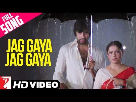 Jag Gaya Jag Gaya - Full Song HD | Kaala Patthar | Amitabh Bachchan | Raakhee