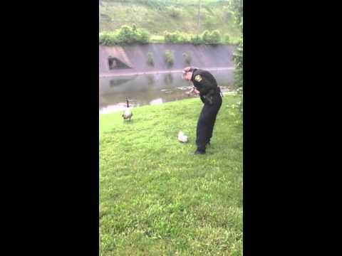 Mother Goose thanks Cincinnati Police