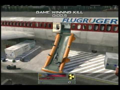 MW2 Throwing Knife -  Game Winning Kills