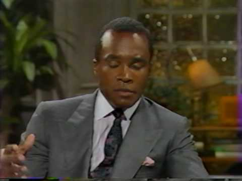 Sugar Ray Leonard on David Brenner's Nightlife-Part 1