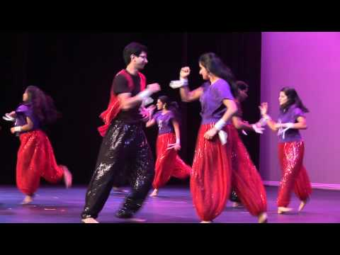 Intel Variety Show 2011 Act 1 Performance 1 -- Indian Fusion...
