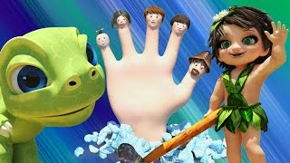 Dinosaur Finger Family Song | Dinosaur T-Rex 🐲 & Dino Girl 👧  Play Finger Family Game | Funny Story