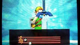 The Legend of Zelda: Ocarina of Time 3D - Skyward Sword Easter Egg/Gameplay Video