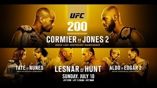 UFC 200: Lesnar vs Hunt preview